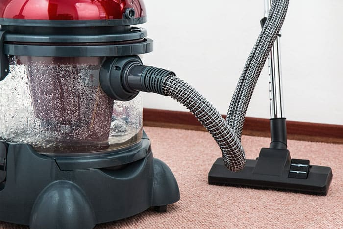 Invest in a good quality RV vacuum cleaner