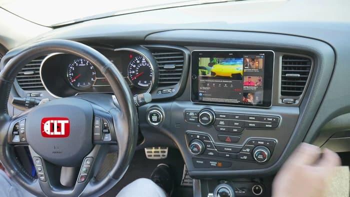 Tablet-as-the-Car-Head-Unit
