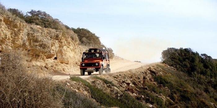 Tips for Driving on Tough Terrains