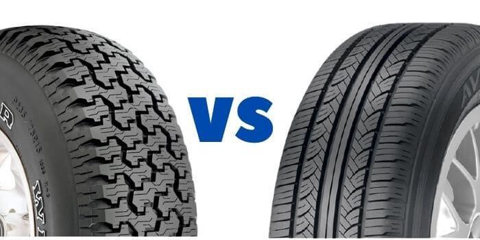 All-season Tire vs. All-Terrain Tire