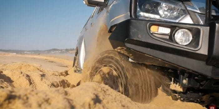 Disadvantages of Sand Tires