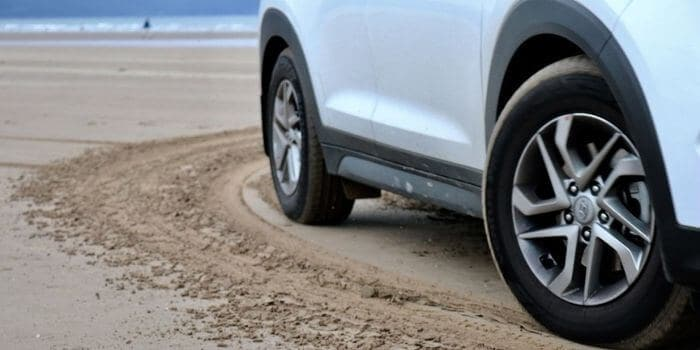 Driving on Sand