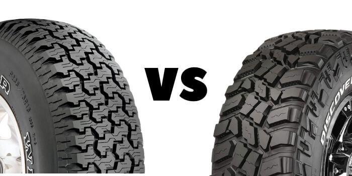 Mud Tires vs. All-Terrain Tires