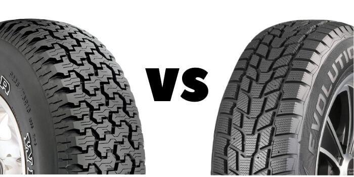 Snow Tires vs. All-Terrain Tires